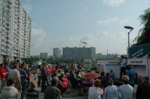Navalnyjs vælgermøde i Borisovo