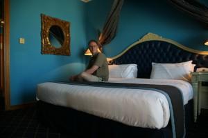 Anders Skærlund Petersen på værelse 804 på Moscow Hotel
