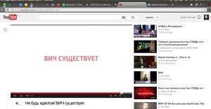 Kampagnevideo om, at HIV findes. Anden video til højre benægter eksistensen af HIV og AIDS.