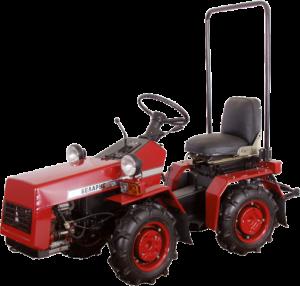 Et eksempel på Belarus traktorfabrikkens produktudvikling: BELARUS-132Н.