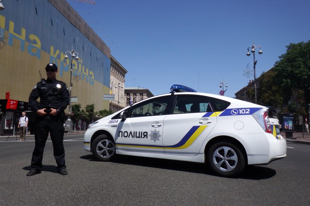 Ukraine har fået en ny politistyrke. Foto: Anders Skærlund Pedersen.