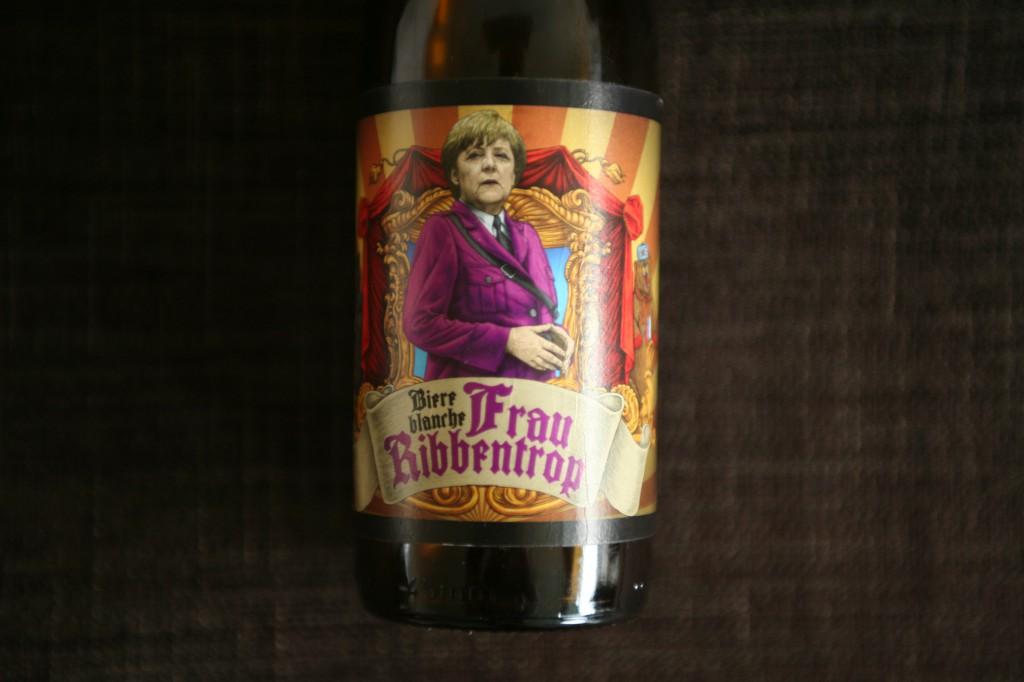 """Øllen """"Frau Ribbentrop"""" fra det Lviv-baserede bryggeri """"Pravda"""". Foto: Anders Skærlund Petersen."""
