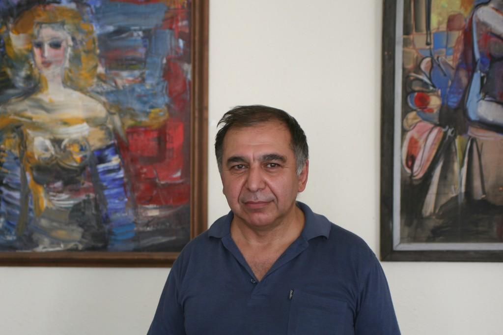 - Der er omkring 10 mio armenere, hvoraf kun 2,5 bor i Armenien, fortæller chef for mediehuset Noyan Tapan, Tigran Harutyunyan. Foto: Anders Skærlund Petersen.