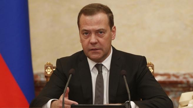 Opbakningen til præmierminister Medvedev og præsident Putin er styrtdykket efter præsentationen af en ny pensionsreform. Foto_ Government.ru